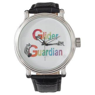 Ropa del guarda del planeador relojes de pulsera
