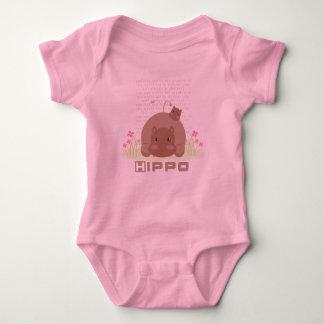 Ropa del hipopótamo de Lil Body Para Bebé