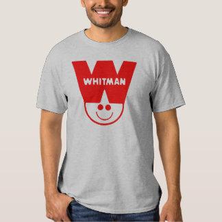 Ropa del logotipo de los tebeos de Whitman Polera