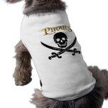 Ropa del mascota camisas de mascota