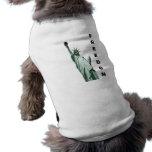 Ropa del mascota camisas de perritos