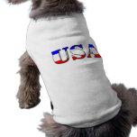 Ropa del mascota camisetas de mascota