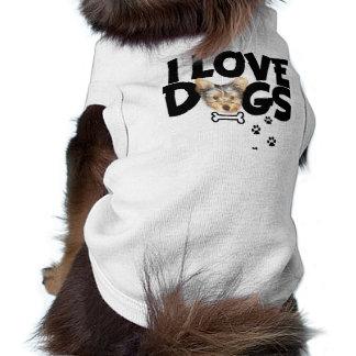 ropa del mascota camisetas mascota