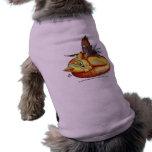 Ropa del mascota de De oro-Como-Sun Camisetas De Perro