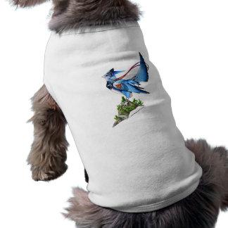 Ropa del mascota de Feathyrkin Veeku Playera Sin Mangas Para Perro