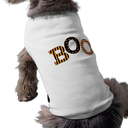 Ropa del mascota de Halloween del abucheo Camiseta De Perrito
