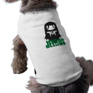 Ropa del mascota de Jeebus Playera Sin Mangas Para Perro