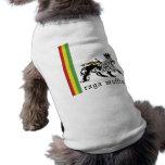 Ropa del mascota de Judah del mollete de Raga Camiseta De Perrito