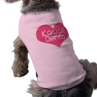 Ropa del mascota de Kawaii Bento del amor Ropa De Perro