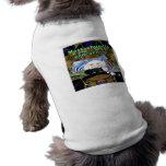 Ropa del mascota de la camisa del perro de Massach Camisetas De Perrito