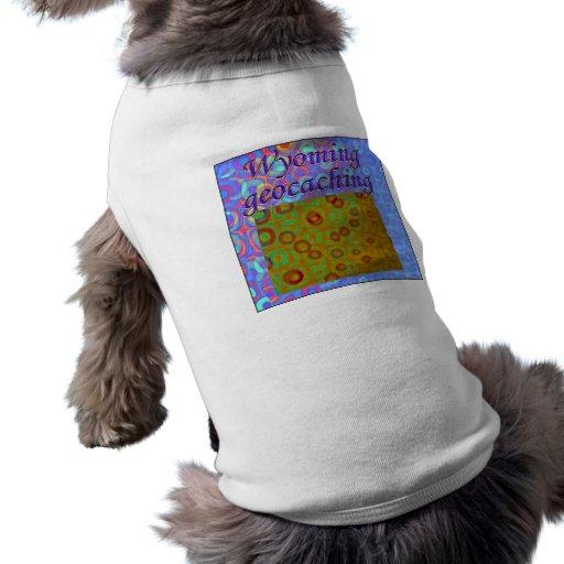 Ropa del mascota de la camisa del perro de Wyoming Ropa De Mascota