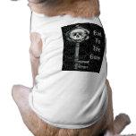 Ropa del mascota de la llave maestra camiseta de mascota