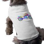 Ropa del mascota de la MOTOCICLETA del arte pop Camisetas Mascota