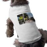 Ropa del mascota de la opinión de la calle de Wood Camiseta De Perro