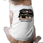 Ropa del mascota de los compinches de Rottweiler Camisetas De Perro