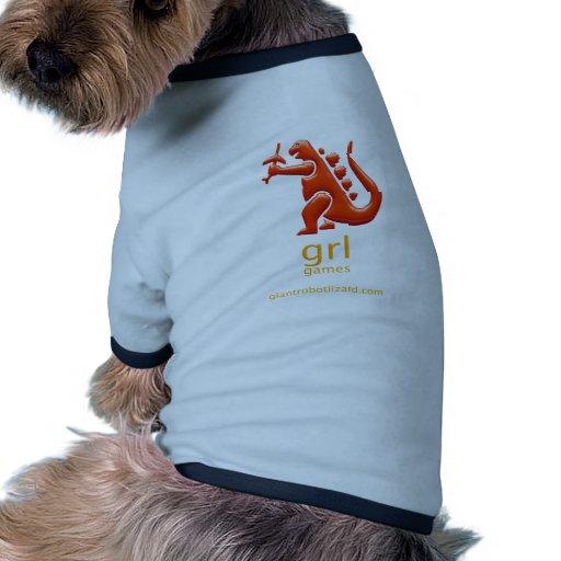 Ropa del mascota de los juegos de GRL Ropa De Perro