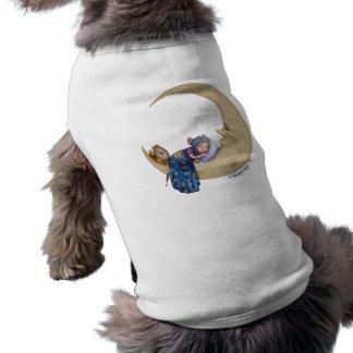 Ropa del mascota de los sueños dulces de Folkvanga Playera Sin Mangas Para Perro