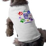 Ropa del mascota de muchas patas camisa de perro