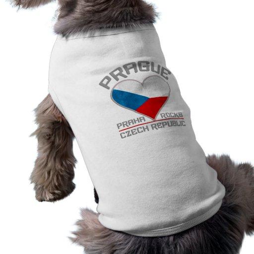 Ropa del mascota de PRAGA Playera Sin Mangas Para Perro