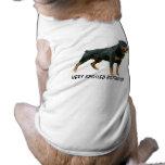 Ropa del mascota de Rottweiler Camisa De Perrito