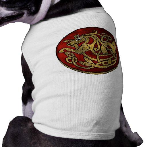 Ropa del mascota de Viking Playera Sin Mangas Para Perro