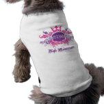 Ropa del mascota del alto mantenimiento de la diva camisa de mascota