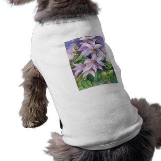 ropa del mascota del arte camiseta de mascota