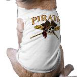 Ropa del mascota del béisbol de Pittsburgh Playera Sin Mangas Para Perro