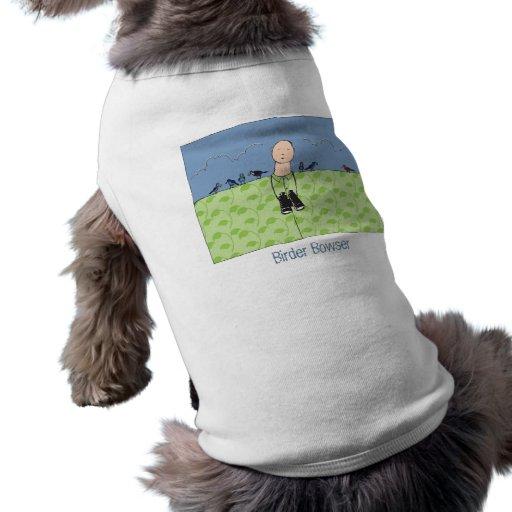 Ropa del mascota del Birder Ropa Macota