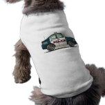 Ropa del mascota del coche del poli del coche del  camiseta de perro