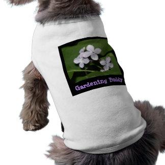 Ropa del mascota del compinche el cultivar un huer camiseta de perrito
