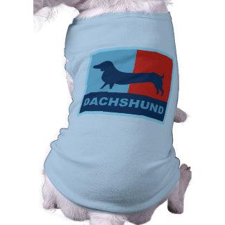 Ropa del mascota del Dachshund Camiseta De Perrito