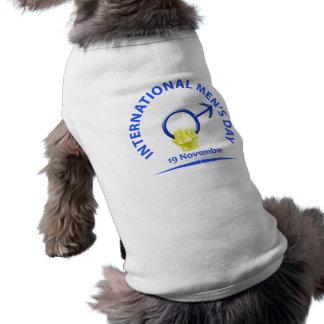 Ropa del mascota del día de los hombres camisetas mascota