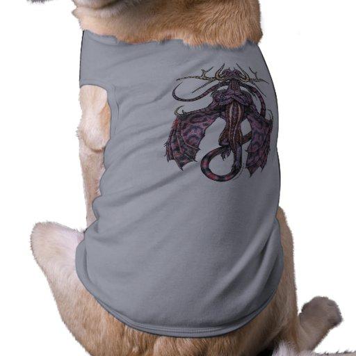 Ropa del mascota del dragón del abogado playera sin mangas para perro