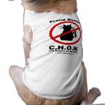 Ropa del mascota del enemigo del gato camisetas de perro