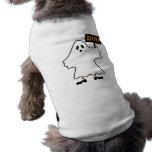 Ropa del mascota del fantasma de Halloween Ropa De Perro