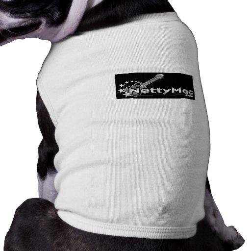 Ropa del mascota del mac de Netty Camisetas De Mascota