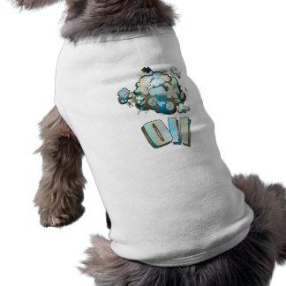 Ropa del mascota del OH del dibujo animado Camisas De Mascota