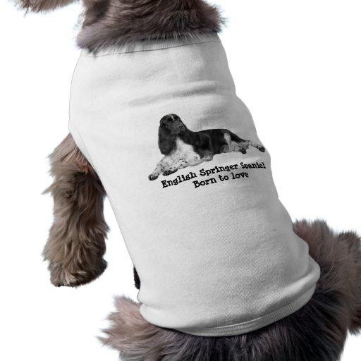Ropa del mascota del perro de aguas de saltador in playera sin mangas para perro
