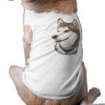 Ropa del mascota del perro de Huskey del siberiano Camisas De Mascota