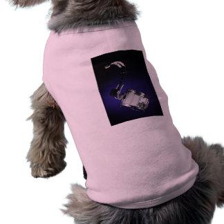 Ropa del mascota del tambor que marcha camisa de perro