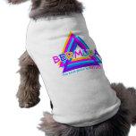 Ropa del mascota del TRIÁNGULO de BERMUDAS Camiseta De Perro