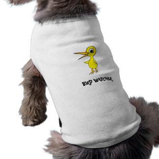 Ropa del mascota del vigilante de PÁJARO Ropa De Perros