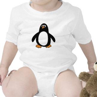 Ropa del niño del pingüino traje de bebé