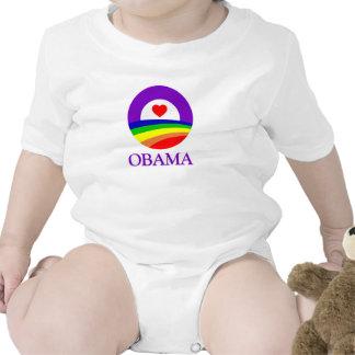 Ropa del orgullo de Obama Camisetas
