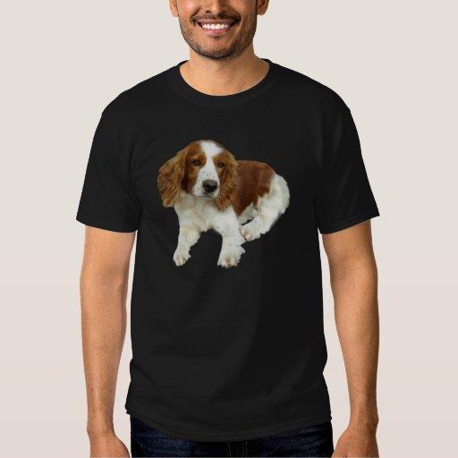 Ropa del perrito del perro de aguas de saltador playeras