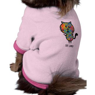 Ropa del perro camisas de perritos