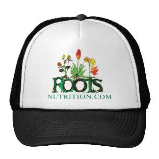 """Ropa del """"punto com"""" de la nutrición de las raíces gorros"""