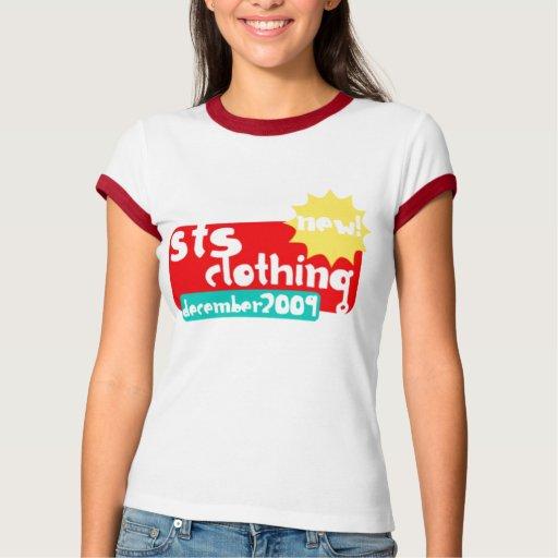 Ropa del STS de nuevo a camiseta de los Remera
