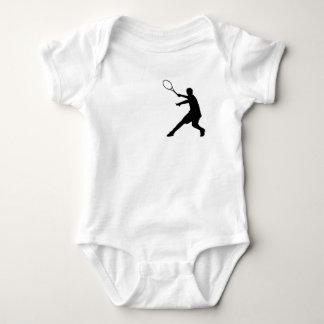 Ropa del tenis del bebé con poco logotipo de un body para bebé